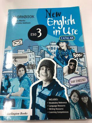 "Libro inglés 3° ESO ""New English un Use"""
