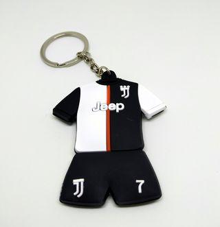 Llavero de Cristiano Ronaldo camiseta Juventus