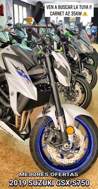 MEJORES OFERTAS SUZUKI GSX-S750 2019 MOTOS NUEVAS