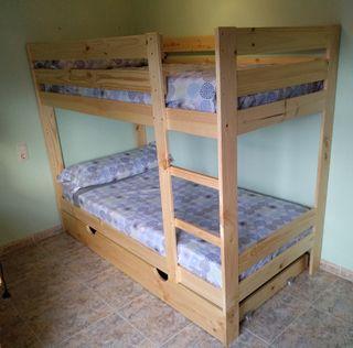 llitera de fusta