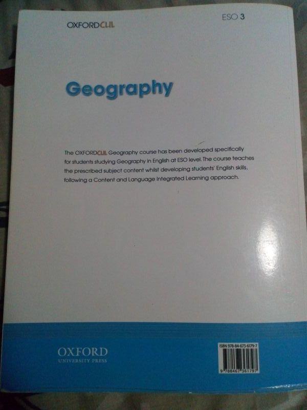 LIBRO GEOGRAFIA 3°ESO
