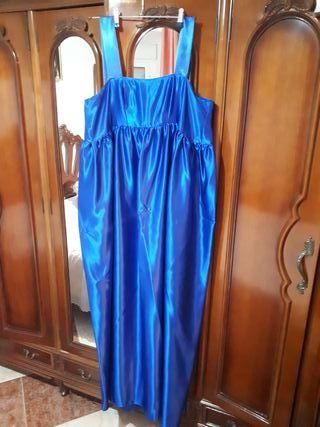 vestido largo de fiesta, talla especial