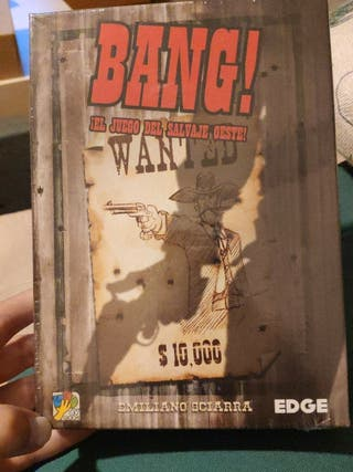 Juego de mesa Bang original sin abrir