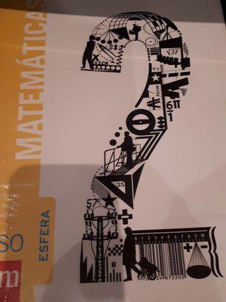 Libro Matemáticas 2 ESO Esfera