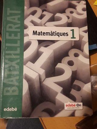 libro matemáticas bachillerato científico