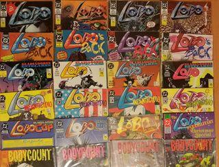 Lote comics Lobo + Comic Tortugas Ninja Bisley