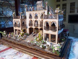 Casa de Muñecas Antigua de Colección 1900'