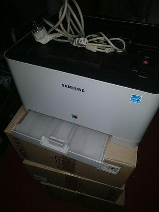 Impresora laser color Samsung CLP 365