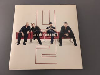 Vinilo Single U2 - Get on your boots