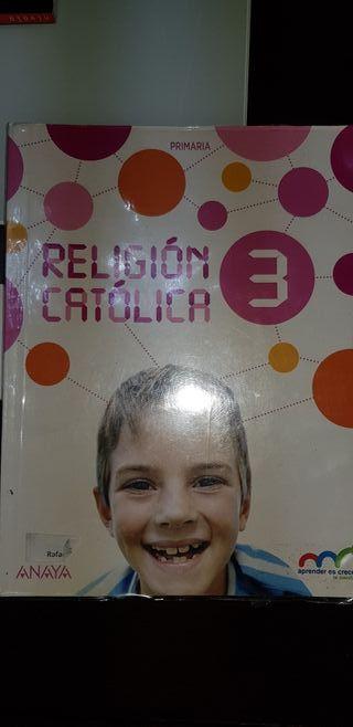 Libro Religión Católica 3 Primaria ANAYA