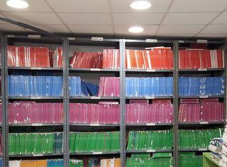 Libros de Primaria, ESO y Bachillerato.