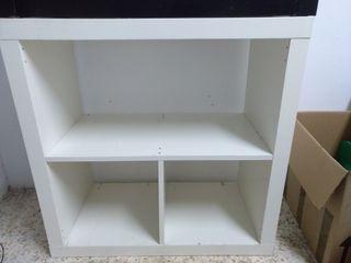 Mueble Kallax Ikea Blanco