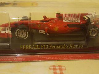 Maqueta Ferrari F10 Fernando Alonso