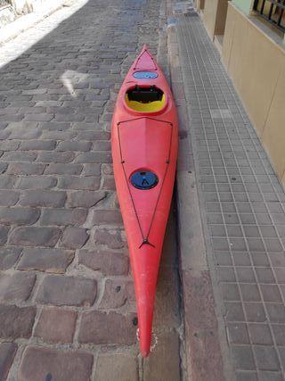 Piragua para rio o mar