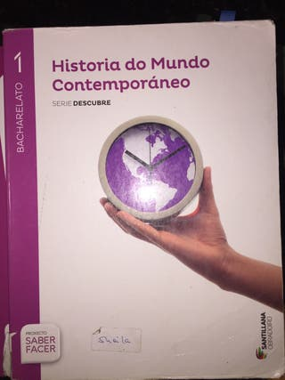 Historia do mundo contemporaneo, santillana