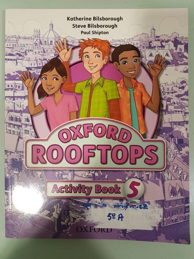 Libro Oxford Rooftops Activity Book 5° primaria de segunda