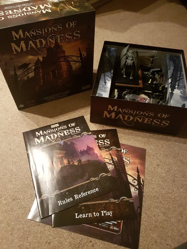 Mansions od Madness 2nd Edition Boardgame