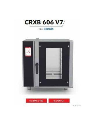 Horno mixto digital electrica. capacidad 6 x gn 1