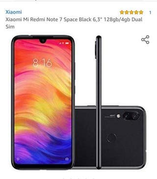 xiaomi redmi note 7,128gb,de el corte ingles