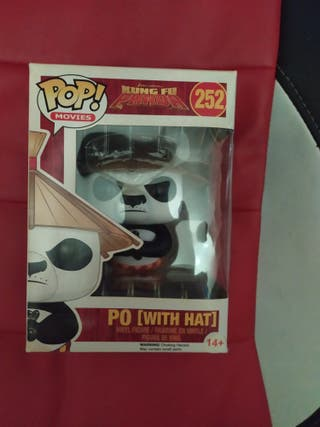Funko Pop! Kung Fu Panda Po con sombrero