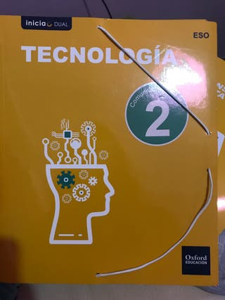 Libro segundo eso de tecnología