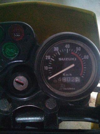 cuenta kilómetros de Suzuki