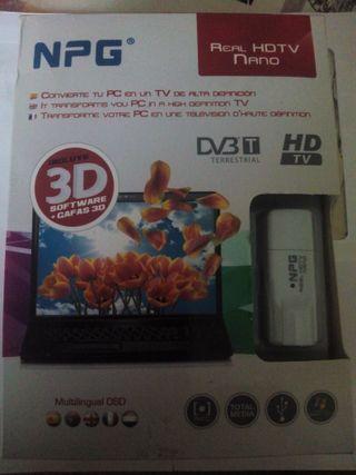 CONVERSOR DE PC EN RECEPTOR GRABADOR DE TV 3D
