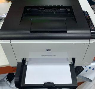 Impresora laser HP Laserjet CP1025nw color