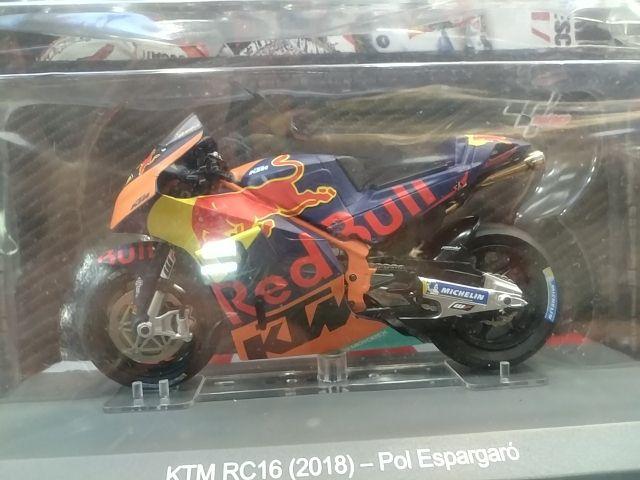 maqueta KTM rc16 2018 Pol espargaro nueva