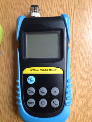 Medidor de potencia Fibra Óptica