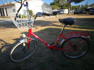 bicicleta bh antigua plegable