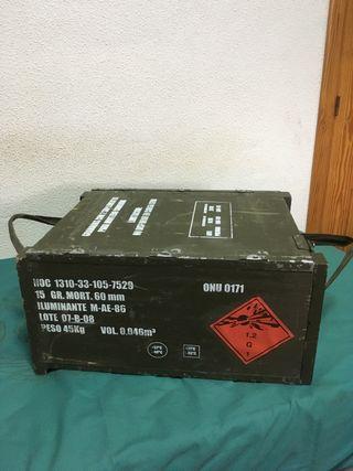 Caja de municion ejército español
