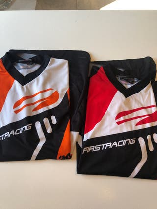 Camiseta técnica enduro motocross Firstracing