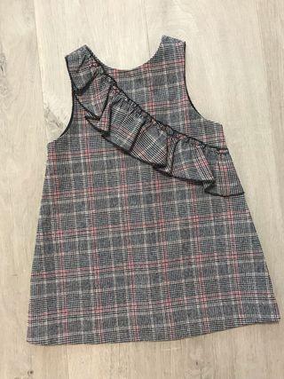 Precioso vestido de niña tipo pichi, talla 98 cm