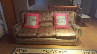 Sofá y butaca