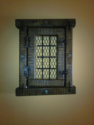 ventana rustica