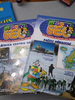 colección geográfia disney