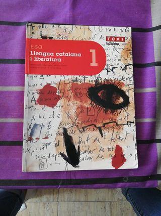 libro llegua catalana i literatura 1er eso