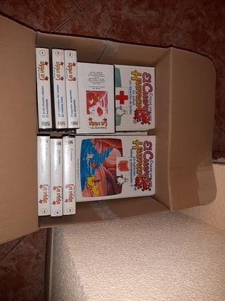 Colección de libros y regalo coleccion VHS
