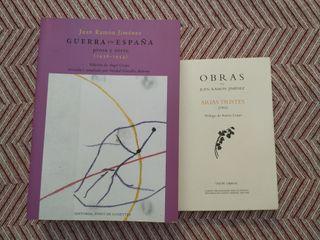 libros Juan Ramón Jiménez