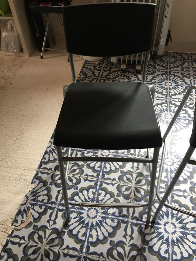 Taburete Stig.2 Taburetes Alto Ikea Stig De Segunda Mano Por 15 En L