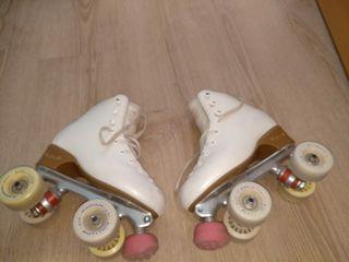 patines de 4 ruedas talla 34