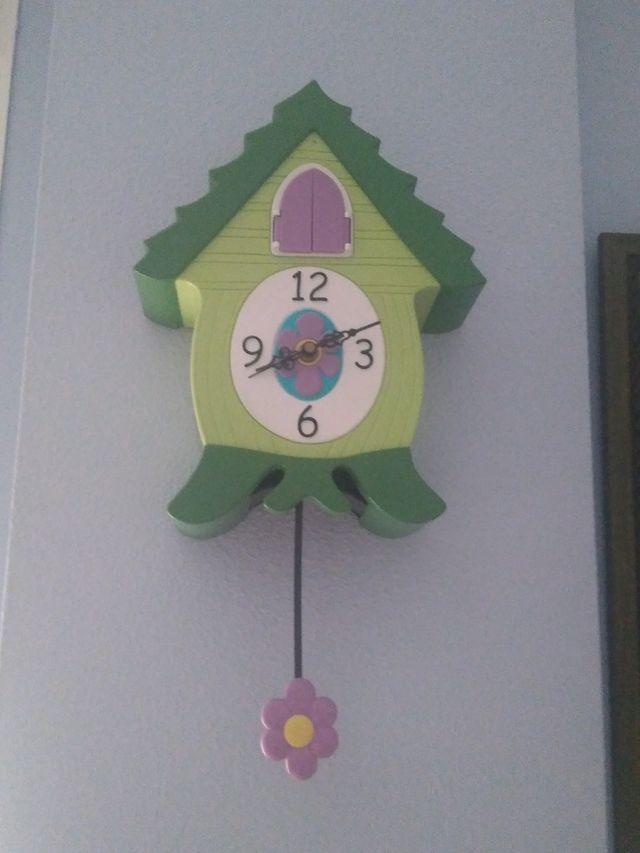 reloj de pared cuco, infantil