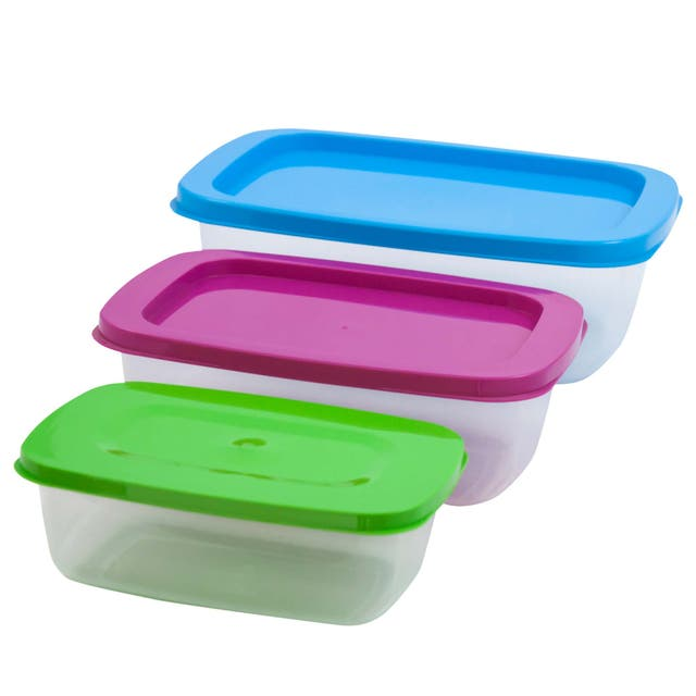 SET 3 FIAMBRERAS TUPPER envases taper comida NUEVO