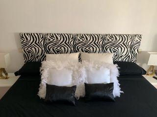 Cabecero tapizado