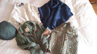 Lote ropa niña de abrigo talla 3/4 años