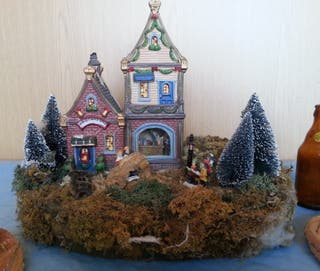 Carrusel de Navidad. Diorama
