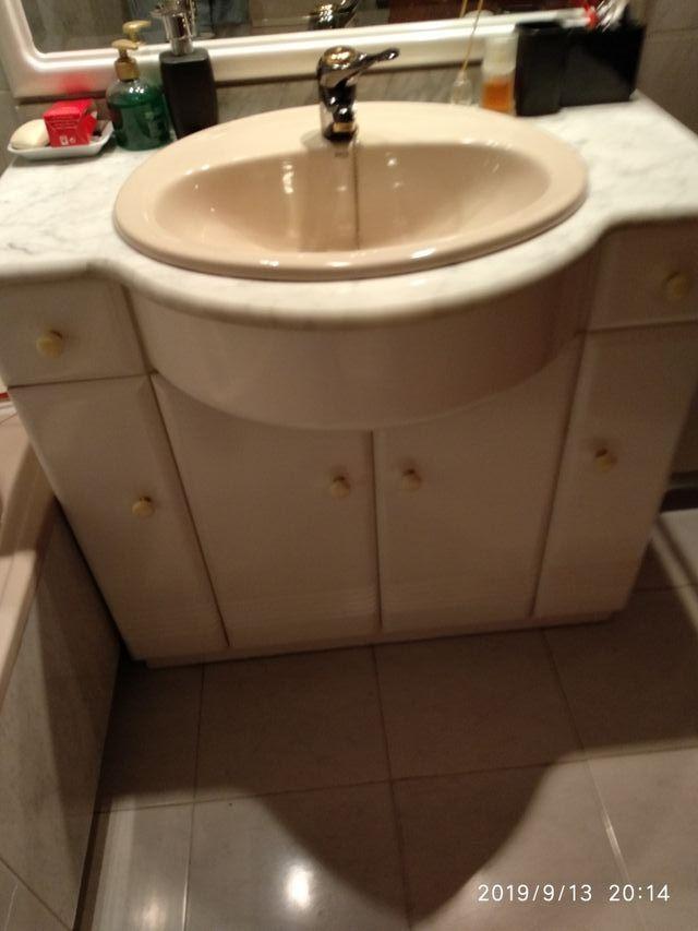 URGE. Baño completo mueble toilet wc