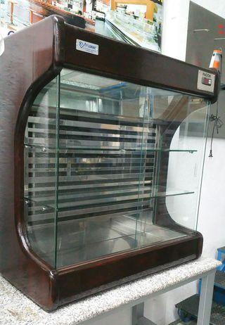 vitrina fria marisquera madera 1m