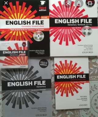 Libros A1 inglés